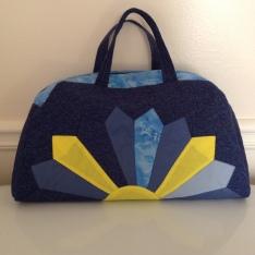 Dresden plate handbag