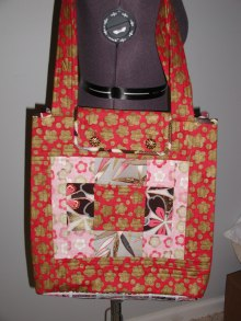 Anne's quilted tote