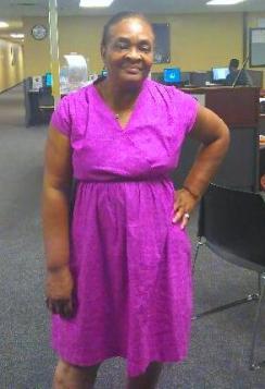 Patricia's dress