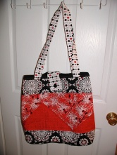 Giota's quilted tote