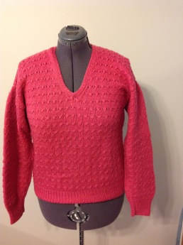My first knit pullover