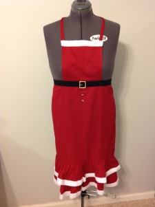 Santa apron