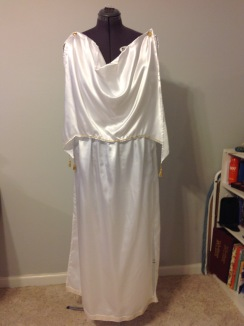 Grecian dress costume