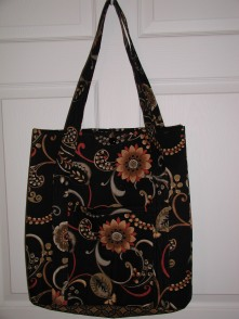 Jan's quilted tote