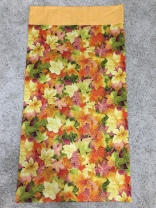 King size leaves pillowcase