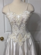 Wedding gown refashioned